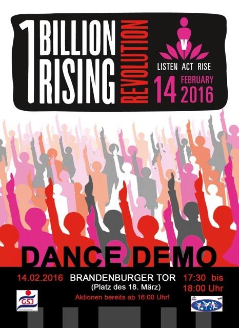 Flyer_One Billion Rising