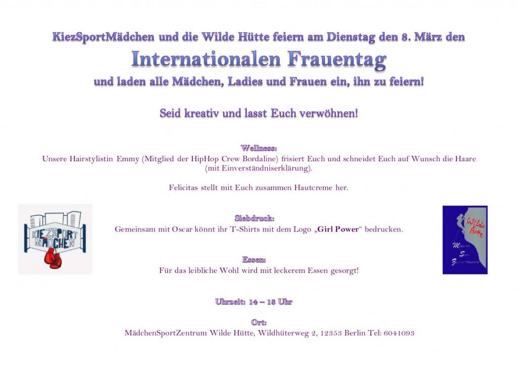 Flyer 8 März